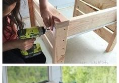 Summer projects I can't wait to build for us to enjoy outside on our deck, table...