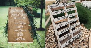 20+ Creative Wedding Timeline Sign Ideas to Get Inspired