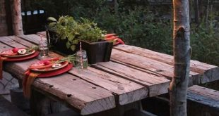 Atmosphärische Beleuchtung ist unverzichtbar für einen Garten, in dem Sie ...