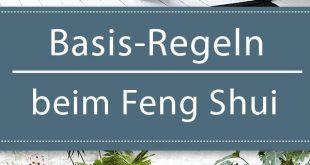 Basis-Regeln beim Feng Shui