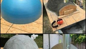 Did you know that you can build your own wood-fired pizza oven with an exercise ...