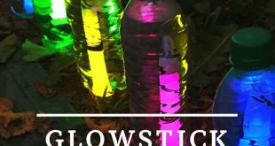 Glow stick lanterns - Fun Activities for Kids - #Activities #Fun #Glow #kids #la...