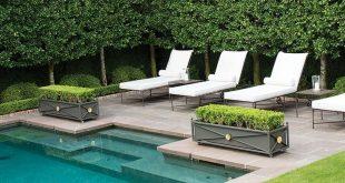 Hinterhof Glückseligkeit Ich kann es kaum erwarten, bis meine Hecken so groß sind! #outdoors #pools - Garten Design