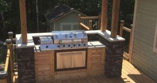 Outdoor-Küchenideen Ihre Gäste gerne besuchen 6