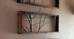 Wohnkultur: Einfach und kreativ Diy Pallet Project Wohnkultur Id ... #wallart #d...