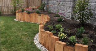 45 Backyard Landscaping Ideen mit kleinem Budget #backyardlandscapingideas #backyardlan … #WoodWorking