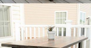 Bauen Sie Ihren eigenen Esstisch im Freien