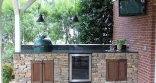 Big green egg island, Outdoor Kitchen and Fire Pit in Hoover, AL. In Birmingham,...
