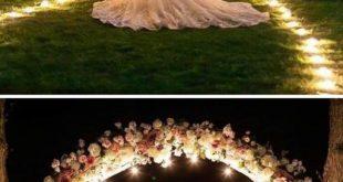 Elegant Outdoor Wedding Decorations 2019