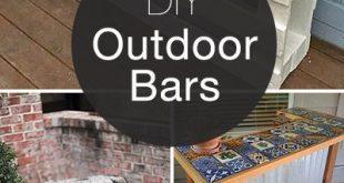 Entspannen Sie sich ... Genießen Sie einen Cocktail mit diesen DIY-Bar-Ideen