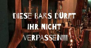 Hamburg Tipps - 3 außergewöhnliche Bars, die ihr nicht verpassen solltet