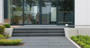 Ob zur Terrassengestaltung, als Gartenweg oder Hauseingang: Großformatige Tritt...
