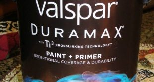 Painting Outdoor Furniture {Thrift Store Find} valspar Outdoor paint with primer...