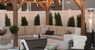 Transitioning the Backyard for Fall - Room for Tuesday Blog