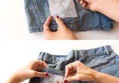 Wie man jedes Design von Hand auf die Kleidung stickt (ohne Verwirrung)