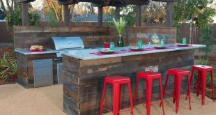 13 Awesome Tricks of How to Make Backyard Bar And Grill Ideas
