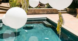 17+ Lovely Pools Party Decorating Ideas for Summer