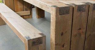 18 Wonderful DIY Backyard Outdoor Table Ideas For Summer Season