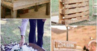 18 einzigartige & kreative Hochzeit Drink Bar Ideen für Hochzeit im Freien
