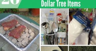20 Genius Camping Hacks mit Dollar Tree Items