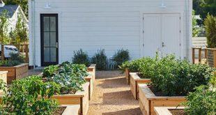 20 besten Gemüsegarten-Design-Ideen für grünes Leben