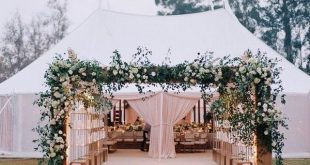 25 Trending Tented Wedding Reception Ideas for Outdoor Wedding Ideas