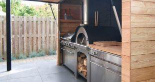 31 Unterhaltung Outdoor Kitchen Bar Ideen für Familienfeiern