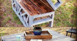 34 DIY-Ideen für Outdoor-Möbel