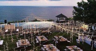 37 Erstaunliche Hochzeitsdekor-Inspiration für Party im Freien - homishome