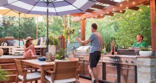 38 Cool Outdoor Kitchen Design Ideas