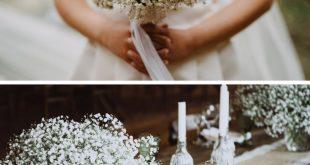 40 bezaubernde Schleierkraut Hochzeitsdeko-Ideen
