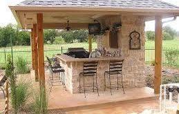 53 großartige Outdoor-Küche-Dekor-Ideen für ein kleines Budget