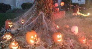 70 Crafty DIY Outdoor Halloween Deko Ideen
