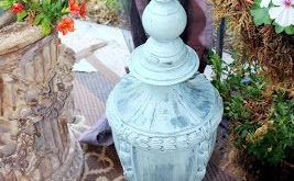 Adding Old Lamps to Your Outdoor Spaces