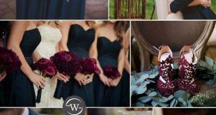 Burgund ist eine unserer beliebtesten Hochzeitsfarben. Die Beere-hued, Wein insp...