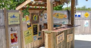 DIY OUTDOOR BAR IDEAS 74 - #Bar #barideas #DIY #Ideas #Outdoor