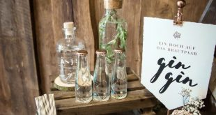 Eine Gin Bar zur Hochzeit  Foto: Doris Himmelbauer, Oh. What a Day – Wedding P...