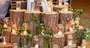 Eine vielseitige hausgemachte Hochzeit im Hinterhof in South Carolina
