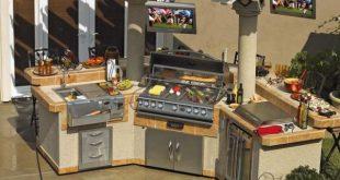Elemente der Gartenküche
