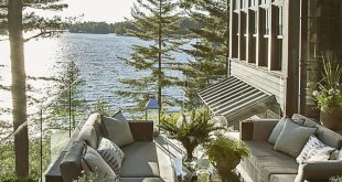 Elevated High Above the Water, This Lake Cottage Feels Like a Giant Treehouse