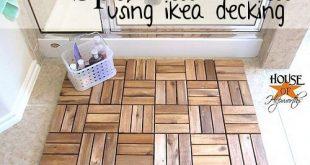 Erstellen Sie eine Whirlpool-Matte mit IKEA-Außendecks