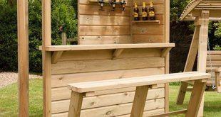 Garten Bar / Kneipe - - #OutdoorKuche