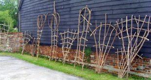 Garten-Gitter-Entwurf auf Garten-Gitter und Anlage stützt Obelisken usw.