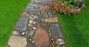 Gartenwege anlegen - kreative Beispiele - Archzine.net