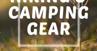 Hiking & Camping Gear Beyond the Bare Necessities.