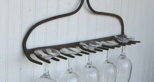 I can't even remember when I started a search for a rusted rake, but I have yet to find one. When I do, this idea will make its home in my kitchen