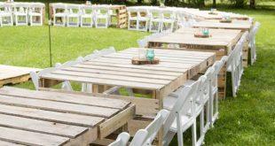 Meine DIY Hochzeit: Empfang #empfang #hochzeit #meine