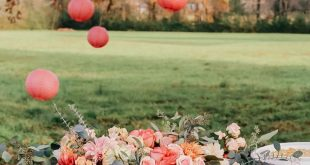 Outdoor Fall Birthday Party | The Southern Style Guide