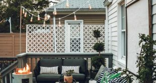 Outdoor Furniture Ideas- Seating, Pillows and Dining