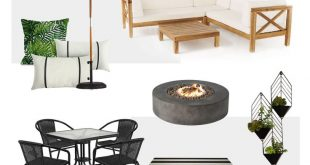 Outdoor Living Space Design Inspiration with Joss & Main